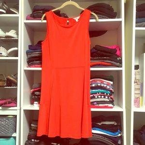 NWT Charming Charlie Medium Orange Dress